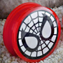 Acrylic screw fit Spider-Man plugs