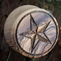 Olivewood nautical star plugs