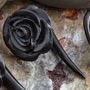 Ebony wood hanging rose design