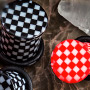 Single flare checkerboard plug