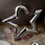 Steel hanging star design