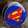 Steel screw fit Superman plugs