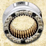 PRE-ORDER Steel gemmed eyelets with bronze bullets