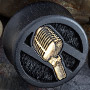 Gaboon ebony microphone plugs