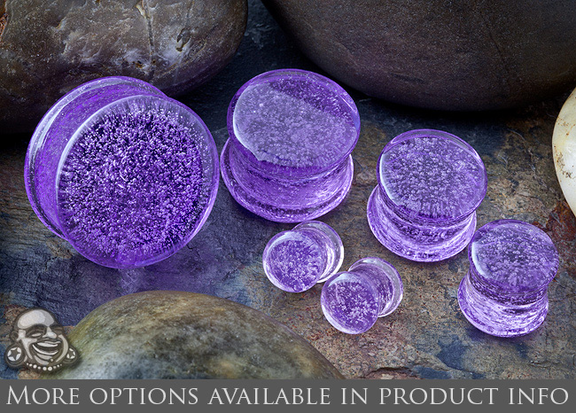 PRE-ORDER Solid Pyrex Plug with Custom Flares