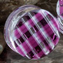 Retro plaid plugs (Lavender)