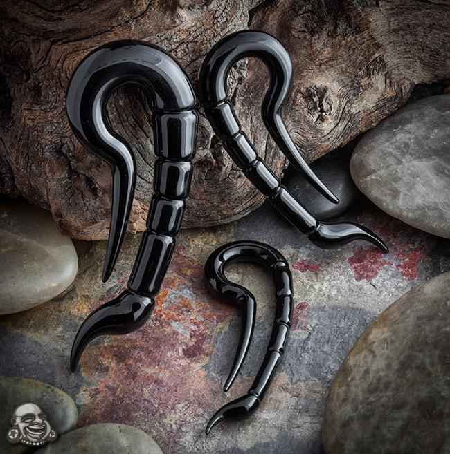 Pyrex Glass Scorpios (Black)