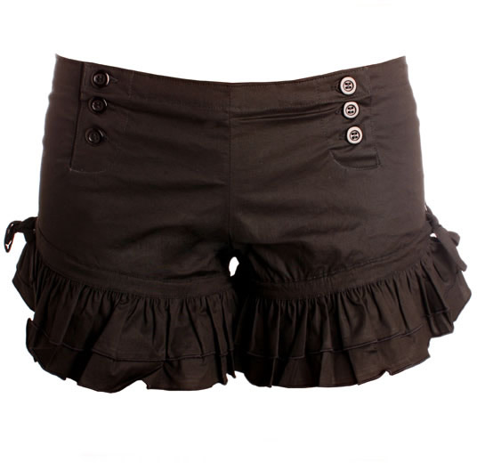 Short Black Bloomers