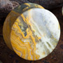 Crazy lace agate stone plugs