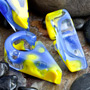 Blue/Yellow triangular weights