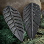 Ebony wood Philodendron design