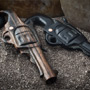 Ebony wood Ultra Six Shooter design