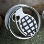 Steel grenade cut-out plug