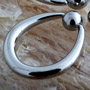 Steel tapered oval ring