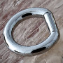 Steel captive bar ring