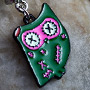 Zombie owl dangle navel