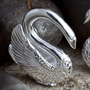 Silver plated odette weights
