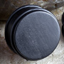 No flare gaboon ebony wood plug