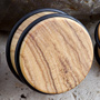 No flare olivewood plug