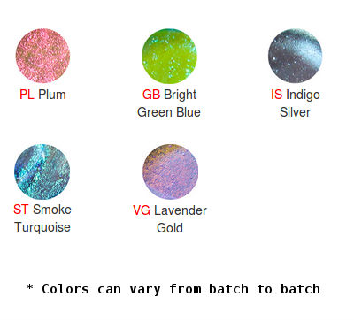 Deluxe Dichroic Chart