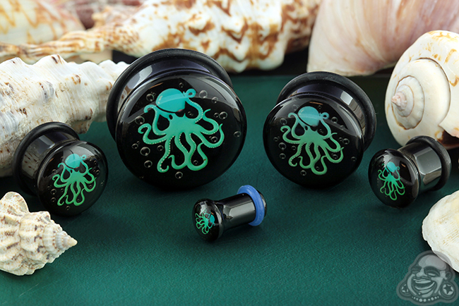 Single Flare Pirate Octopus Plug