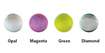 Fused dichro color chart