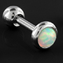 Synthetic opal barbell