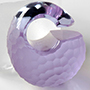 Solid color martele Kettlebell weights (Lavendar)