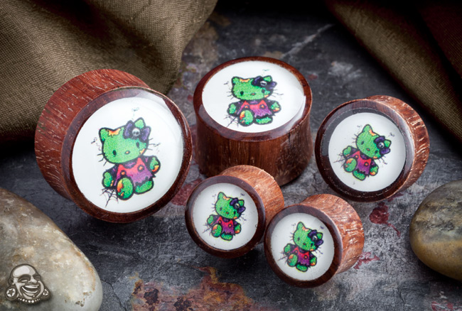 Bloodwood Zombie Kitty Plugs