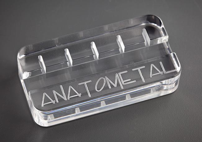 PRE-ORDER Anatometal Logo Navel Curve Display