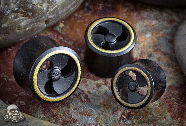 Ebony Wood Propeller Plugs
