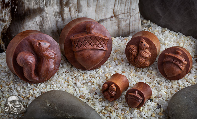 Sabo Wood Thems My Nuts Plugs