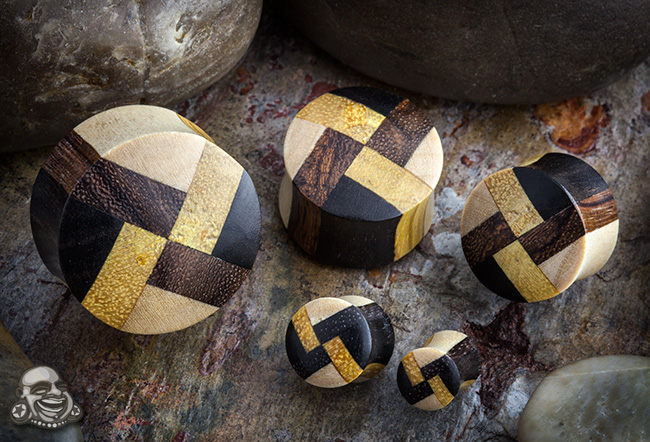 Mixed Wood Plugs