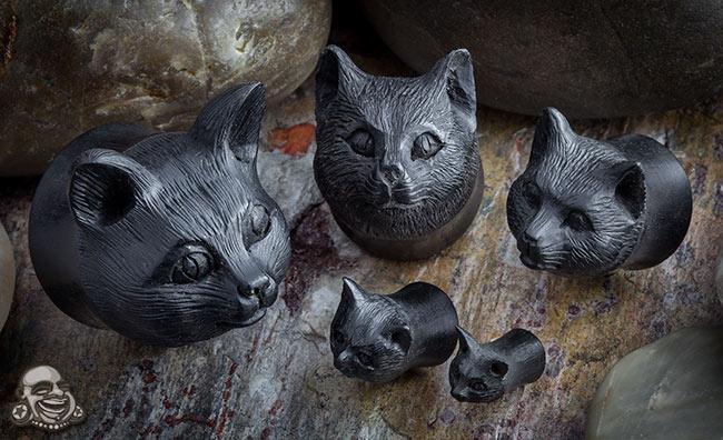 Arang Wood Kitty Plugs