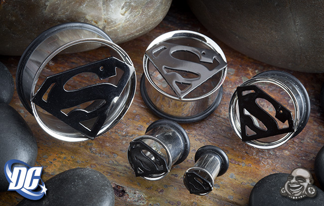Steel Superman Eyelets