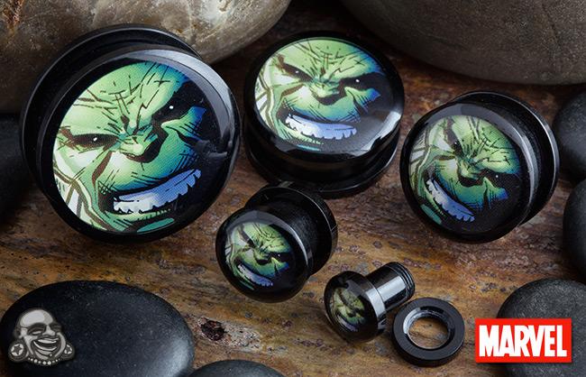 Acrylic Screw Fit Hulk Plugs