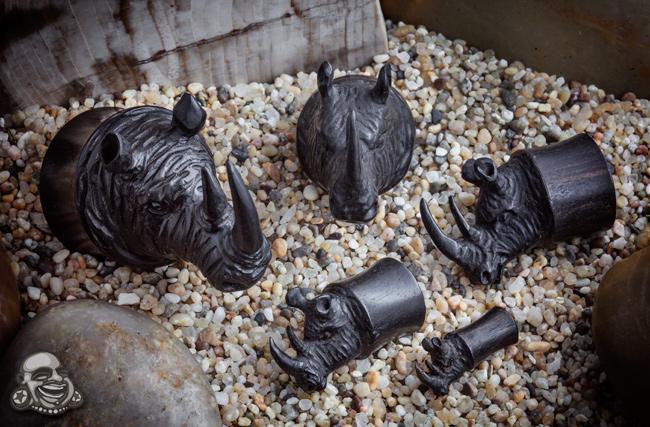Arang Wood Rhino Plugs