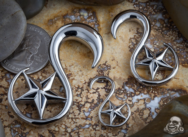 Steel Nautical Star Design
