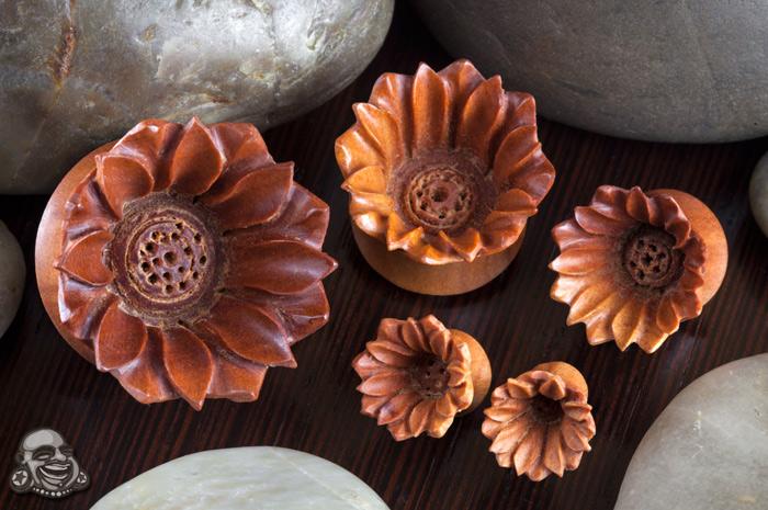 Saba Wood Mod Flower Plugs