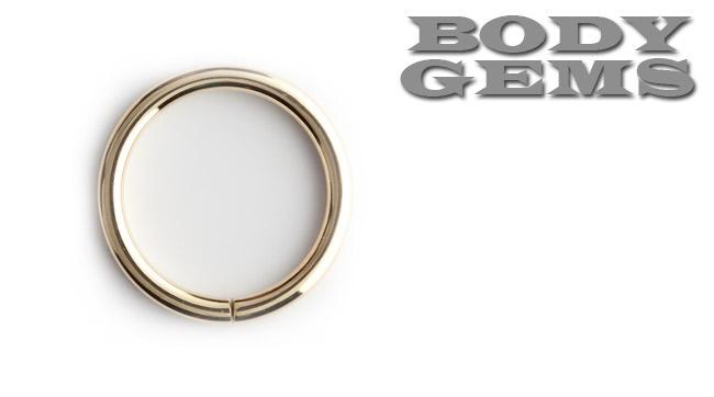 PRE-ORDER 14k Gold Seamless Ring