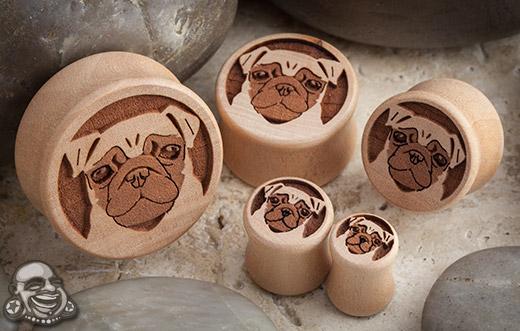 Pear Wood Pug Plugs