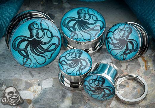 Steel Screw Fit Octopus Plug