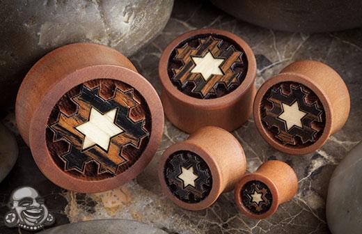 Pear Wood Superstar Plugs