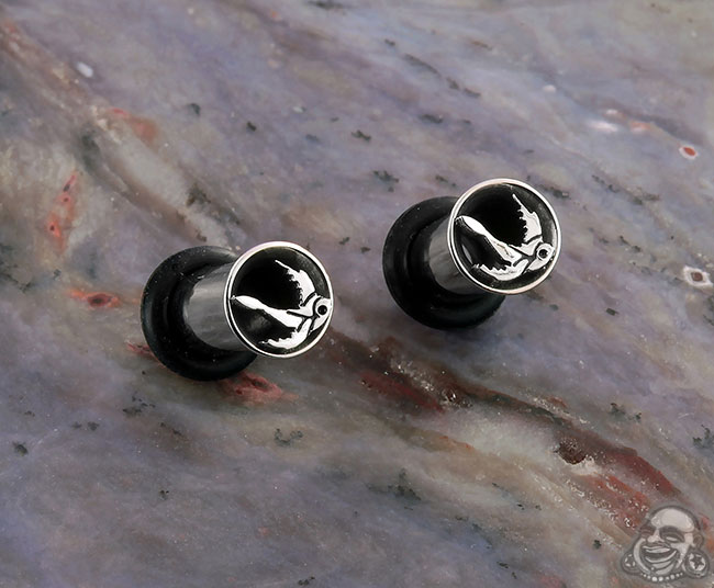 SF Steel Swallow Eyelets (pair- not mirrored)