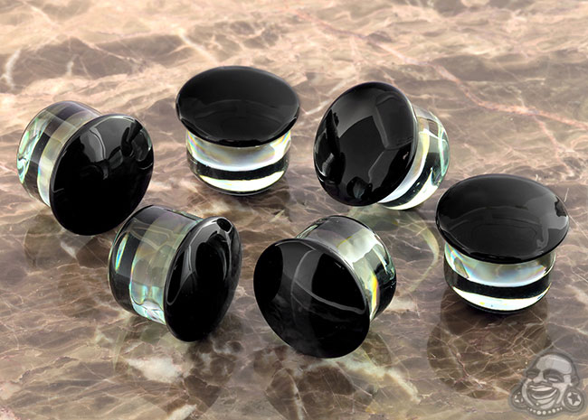 SF Black Colorfront Plugs (Pair)