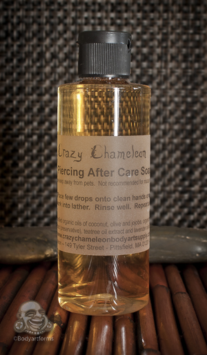 Crazy Chameleon Piercing Cleanser
