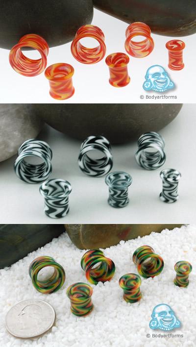 Swirly Glass Eyelets