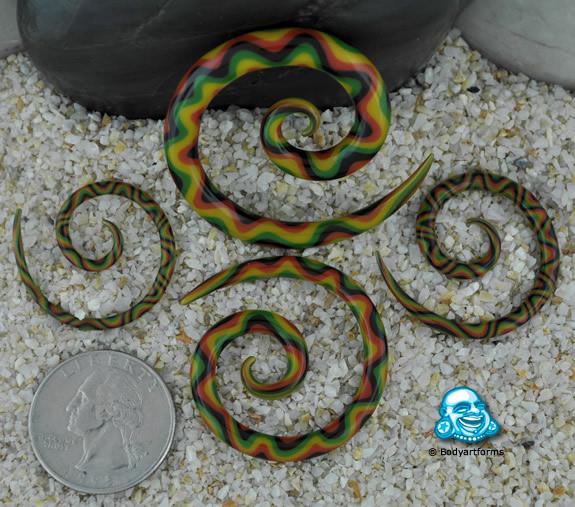 Swirly Glass Super Spiral