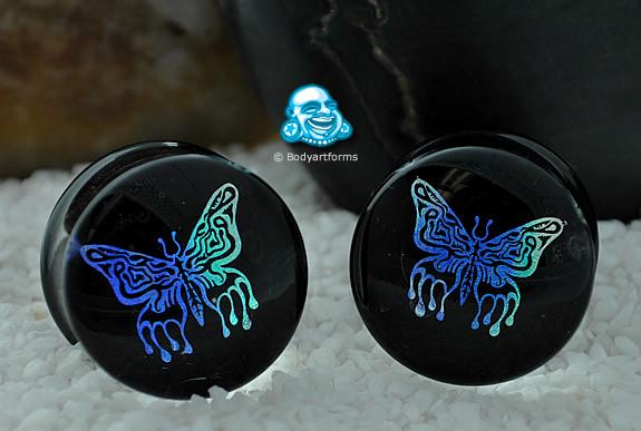 Moth Rainbow Dichroic Plugs