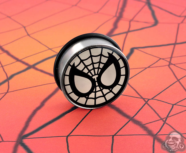 SF steel Spiderman plug (SINGLE)